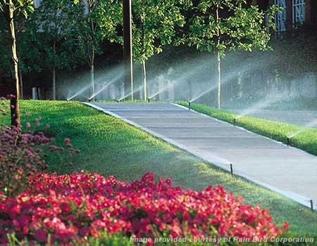 North Texas sprinkler system installation